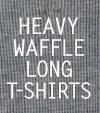 <NEW>今すぐ着たいワッフルロングTシャツ【DM511】を販売開始!