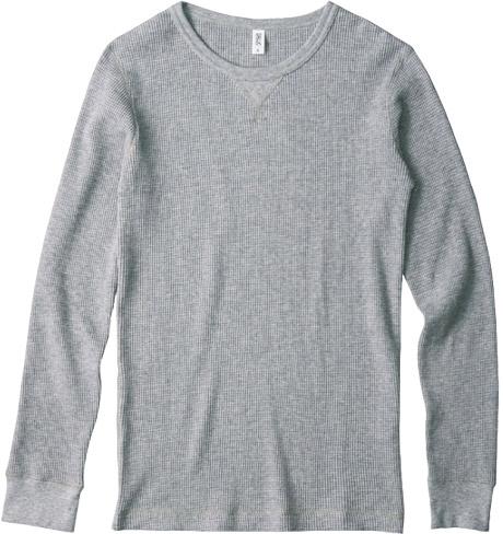2ヘヴィーワッフルロングTシャツ