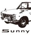 日産サニー50周年記念Tシャツ&トート販売開始!