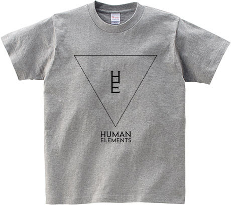 HUMAN ELEMENTS Tシャツ