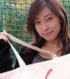 【小橋めぐみ】新作エコバッグが登場!昨年大好評だった直筆サイン入り2009年カレンダーがセットです。