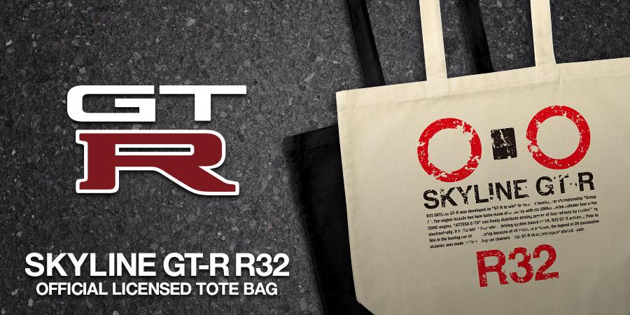 R32 GT-R TOTE BAG